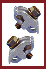 Bronze Bonding and Grounding Clamps