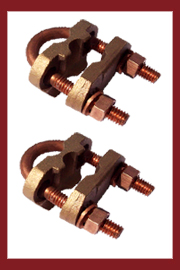 Bronze Bonding U Bolt Clamps