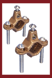 Bronze Ground Water Pipe Clamps