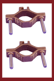 Bronze Grounding Rebar Clamps