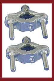 Zinc Grounding Pipe Clamps